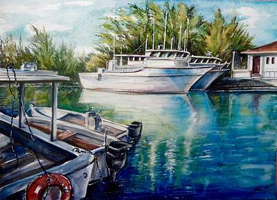 Coral Harbour 3 Art Print