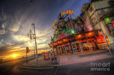 Photograph - Coral Island - Blackpool by Yhun Suarez