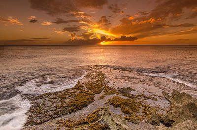 Photograph - Coral Island Sunset by Tin Lung Chao