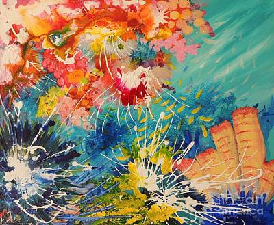 Painting - Coral Madness by Lyn Olsen