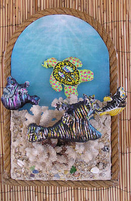 Mixed Media - Coral Paradise  by Dan Townsend