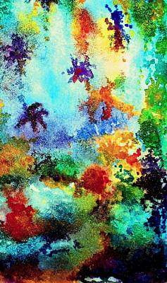 Painting - Coral Reef Impression 13 by Hazel Holland