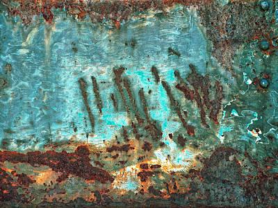 Coral Reef...waves Art Print