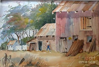Painting - Coral Road Farm by Gerald Miraldi