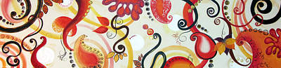 Yasmin Modi Painting - Coral by Yasmin  Modi