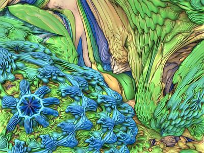 Digital Art - Corals by Radoslav Nedelchev