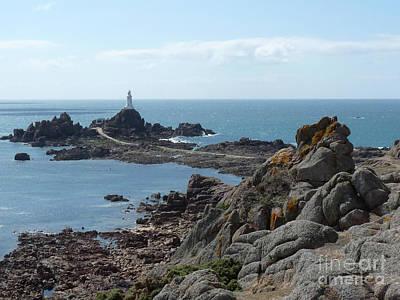 Photograph - Corbiere Lighthouse by Deborah Smolinske