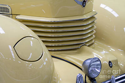 Cord 812 Oldtimer From 1937 Grill Art Print by Heiko Koehrer-Wagner