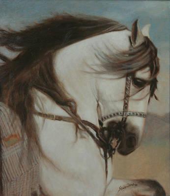 Painting - Cordero- Doma Vaquera by Sciandra