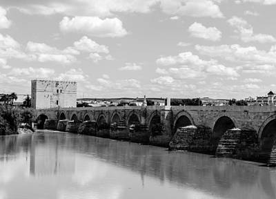 Photograph - Cordoba - The Roman Bridge  by Andrea Mazzocchetti