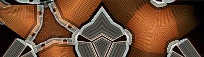 Corduroy And Chrome Art Print by Ron Bissett