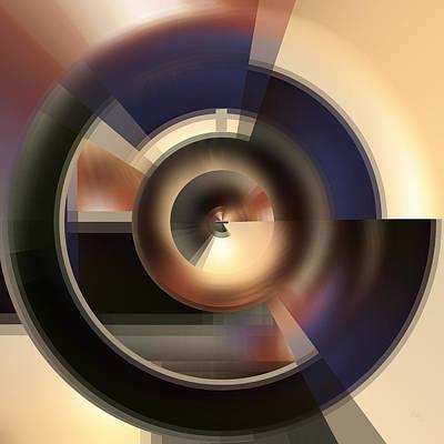 Digital Art - Core - A Fine Art Digital Abstract by rd Erickson