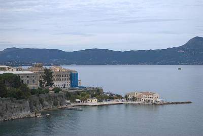 Corfu City 4 Art Print