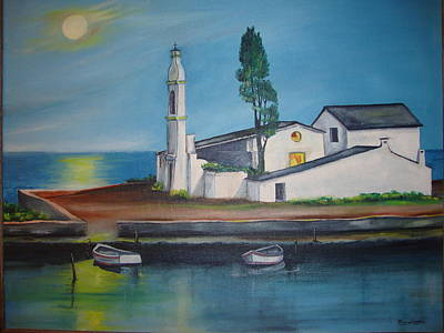 Painting - Corfu by Jorge Parellada