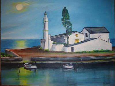 Painting - Corfu by Jorge Parellada