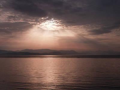 Photograph - Corfu Sunset by Tamyra Crossley