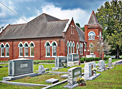 Photograph - Corinth Baptist by Linda Brown