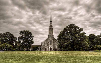 Photograph - Corinth Reformed Church by Amber Summerow