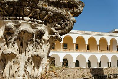 Corinthian Photograph - Corinthian Capital, Carthage National by Nico Tondini