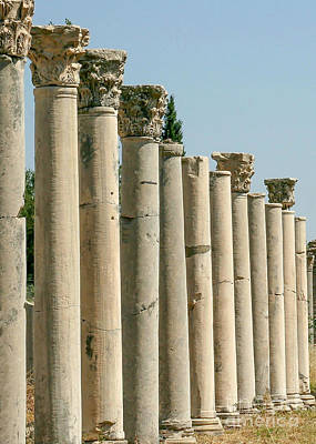 Photograph - Corinthian Columns In Turkey by Sabrina L Ryan
