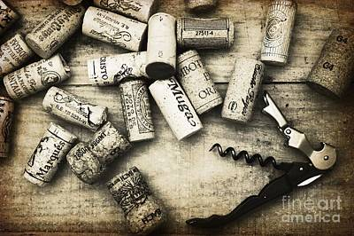 Wine Photograph - Corked by Clare Bevan