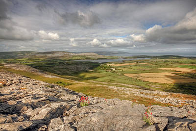 Burren Photograph - Corker Hill View by John Quinn