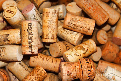 Photograph - Corks by Audreen Gieger