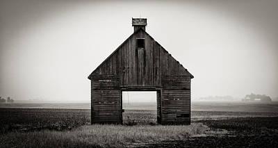 Photograph - Corn Crib #2 by James Howe