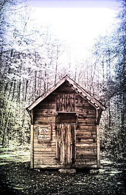 Photograph - Corn Crib by Kelly Hazel