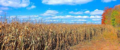Painting - Corn Field by Peter Jackson