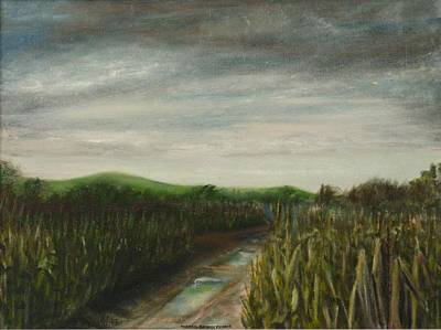 Painting - Corn Field by Michael Anthony Edwards