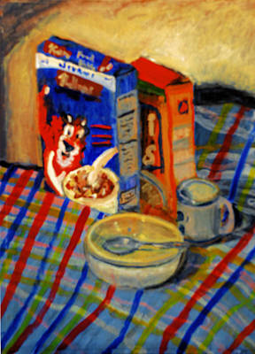 Painting - Corn Flakes by Michael Daniels