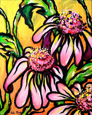 Painting - Corn Flowers by Nada Meeks