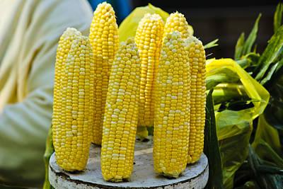 Photograph - Corn On Display by Christi Kraft