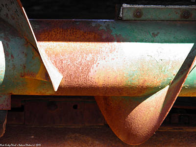 Impressionist Landscapes - Corn Picker Auger by Nick Kirby