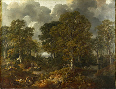 Sudbury Painting - Cornard Wood Near Sudbury Suffolk by Thomas Gainsborough