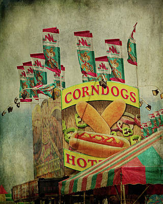 Digital Art - Corndogs by Lana Trussell