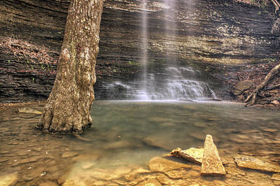 Photograph - Cornelius Falls Basin - Heber Springs Arkansas by Jason Politte