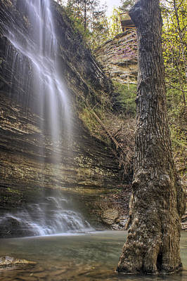 Heber Springs Photograph - Cornelius Falls - Heber Springs Arkansas by Jason Politte