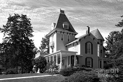 Diploma Photograph - Cornell College President's House by University Icons