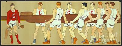 Cornell Crew 1907 Print by Padre Art