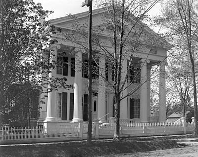 Photograph - Cornell House Pittsfield Mass by William Haggart