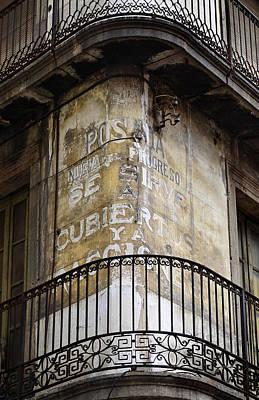 Photograph - Corner Balcony by Jack Daulton