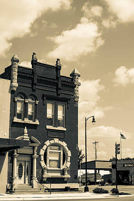 Photograph - Corner Building In Perry by Nathan Hillis