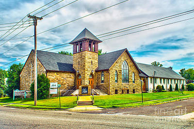 Photograph - Corner Church by Nick Zelinsky