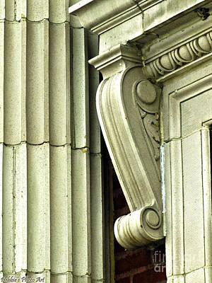 Corbal Photograph - Corner Details by Debbie Portwood