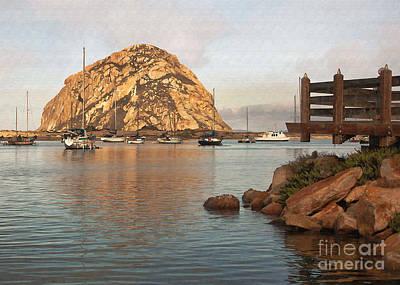 Corner Harbor Art Print