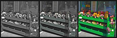 Photograph - Corner Market Fruit Bins 2 by SC Heffner