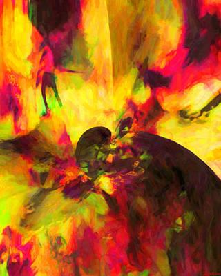 Art Print featuring the digital art Corner Of Discovery by Joe Misrasi