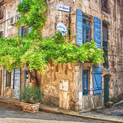Photograph - Corner Of Provence by Joan Herwig